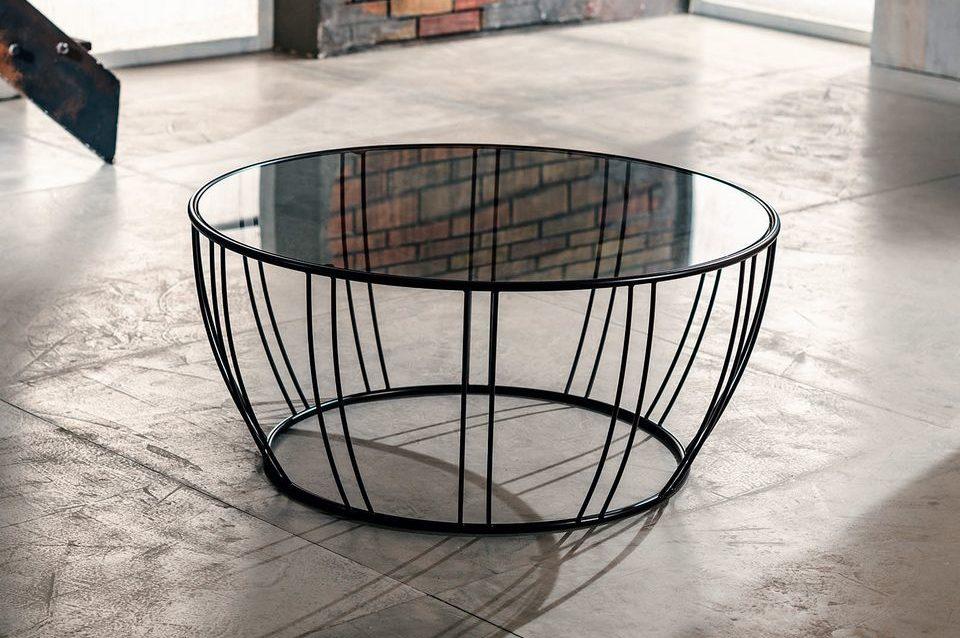 IMAGO FACTORY BIG MAMA Tavolino da Salotto in Metallo e Vetro o ...