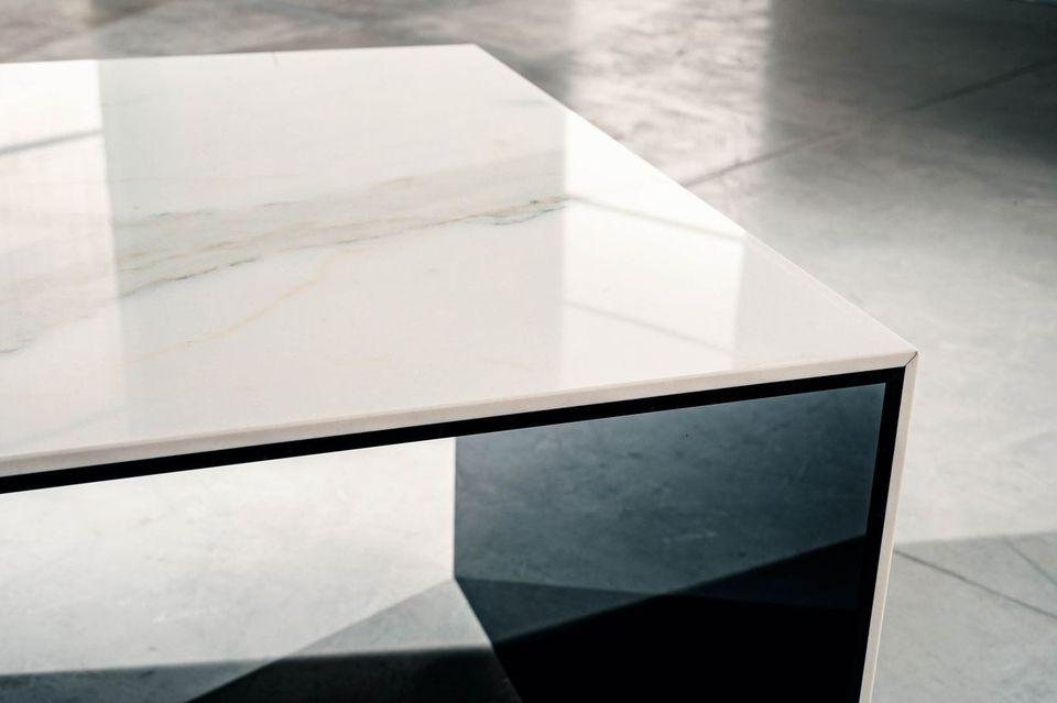 Tavolini Da Salotto In Marmo E Vetro.Allegro